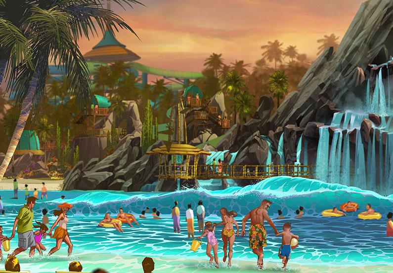 volcano-bay-parque-aquático