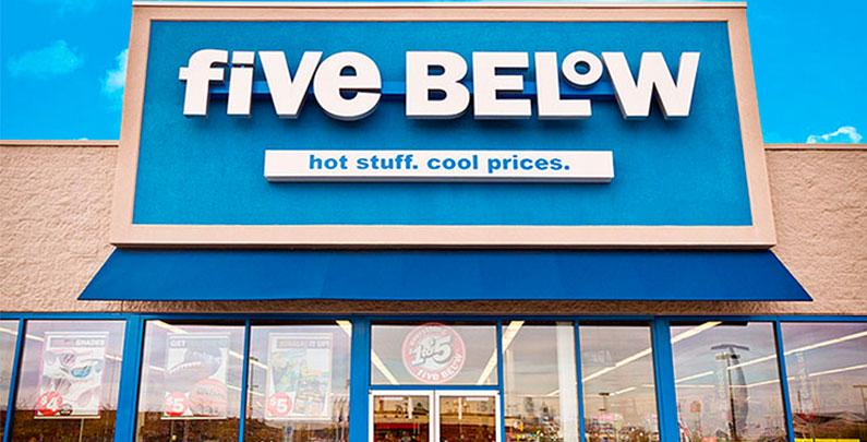 Five Below – Tudo por US$ 5,00 ou menos | 4 dicas imperdíveis de compras