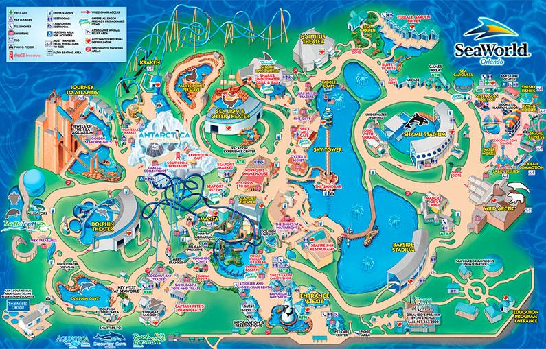 mapa-seaworld-historia-parque