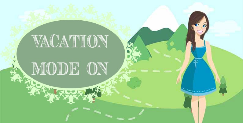 #VacationModeOn – Partiu férias