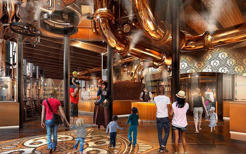 restaurante-estilo-fabrica-de-chocolate-em-orlando