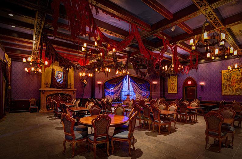 dica-viagem-orlando-disney-restaurante-castelo-bela