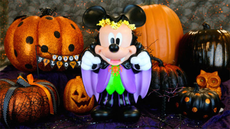 hollywood-e-vine-restaurante-mickey-personagem-halloween