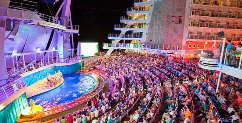 Shows Navio Oasis of the Seas – Royal Caribbean