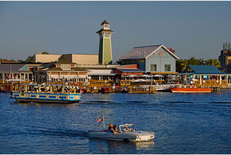 dicas-disney-springs-passeios-no-lago-de-barco