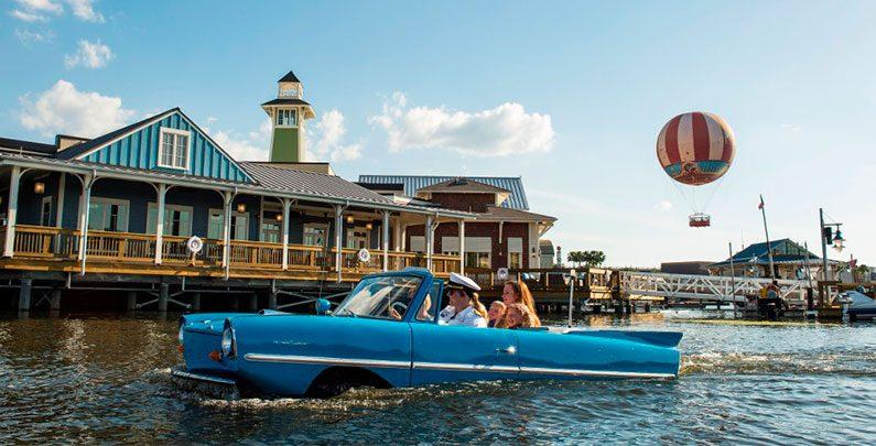 The Boathouse – restaurante com tema náutico no Disney Springs
