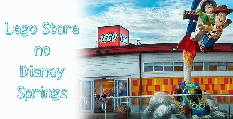 Loja da Lego no Disney Springs