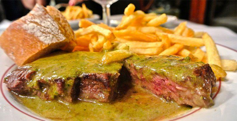 Restaurante delicioso em Paris – Le Relais de l'Entrecôte