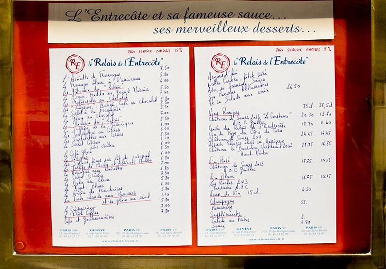 menu-restaurante-entrecote-paris
