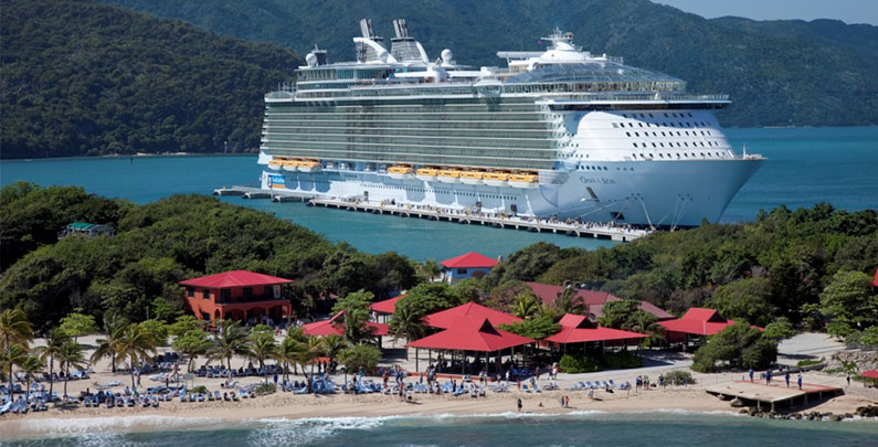 7 coisas pra não fazer nos navios da classe Oasis | Royal Caribbean