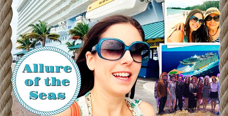 Como foi minha viagem a bordo do Allure of the Seas | Caribe Oeste