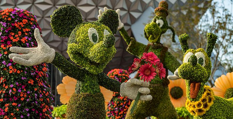 Flower & Garden Festival no EPCOT | Destaques 2018